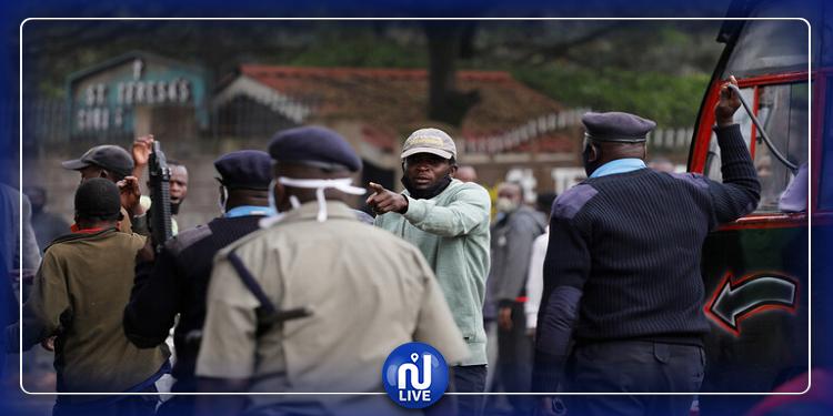 مقتل 15 شخصا برصاص الشرطة الكينية لخرقهم حظر التجول!