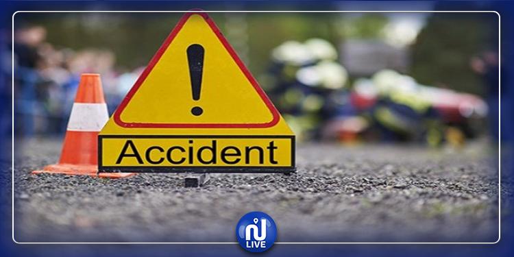 جندوبة:اصابة عدد من الأشخاص في حادث اصطدام سيارة ''تاكسي'' بسيارة عائلية
